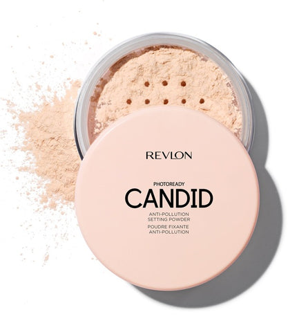 Revlon PhotoReady Candid Anti-pollution Setting Powder sypki puder do twarzy 001 Translucent 15g