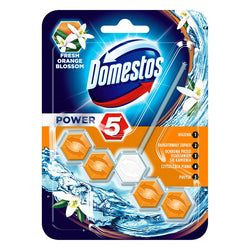 Domestos Power 5 Fresh Orange Blossom kostka toaletowa 55g