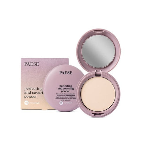 Nanorevit Perfecting and Covering Powder puder upiększająco-kryjący 02 Porcelain 9g