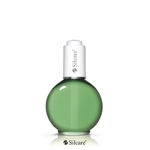 Silcare The Garden of Colour oliwka do paznokci Kiwi Deep Green 75ml