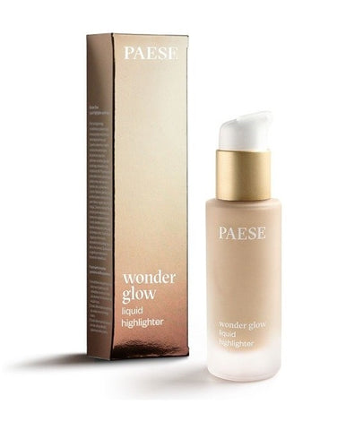 Paese Wonder Glow Liquid Highlighter rozświetlacz w płynie Body 20ml