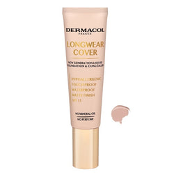 Dermacol Longwear Cover Make-Up podkład i korektor do twarzy 04 Sand 30ml