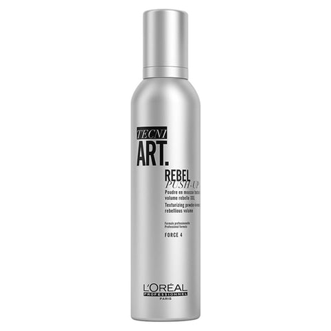 L'Oreal Professionnel Tecni Art Rebel Push-Up Texturizing Powder-In-Mousse teksturyzujący puder w piance Force 4 250ml