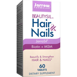 Jarrow Beautysil Hair & Nails suplement diety 60 tabletek