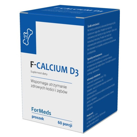 Formeds F-Calcium D3 suplement diety w proszku