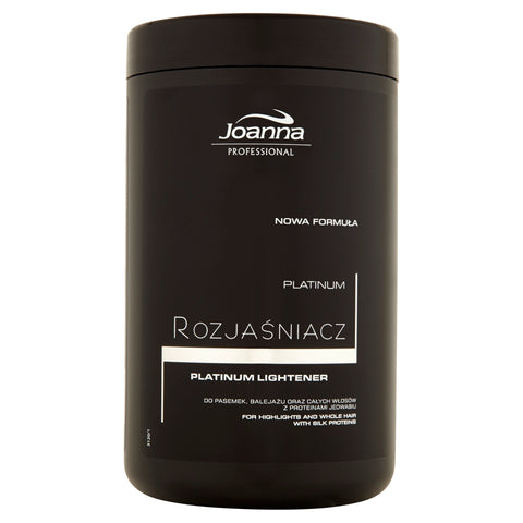 Joanna Professional Platinum Lightener rozjaśniacz do włosów 500g