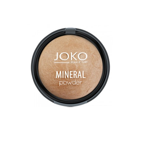 Joko Make-Up Mineral Powder mineralny puder rozświetlający 05 Light Bronze 7.5g