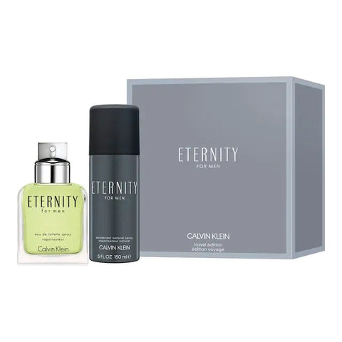 Eternity for Men zestaw woda toaletowa spray 100ml + dezodorant spray 150ml