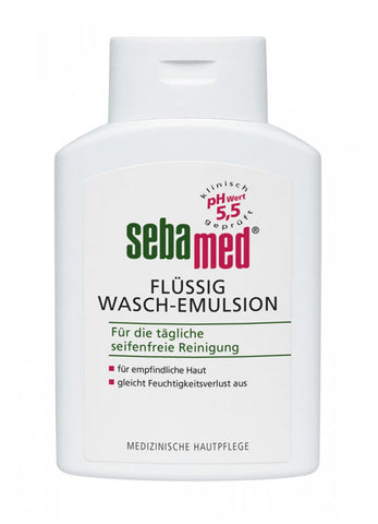 Sebamed Sensitive Skin Liquid Face & Body Wash emulsja do mycia twarzy i ciała 200ml