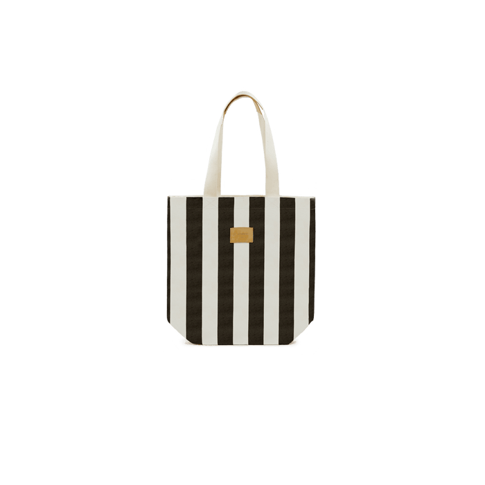 City Bag Stripe Noir