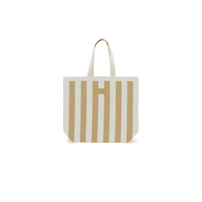 Beach Bag Stripe Beige