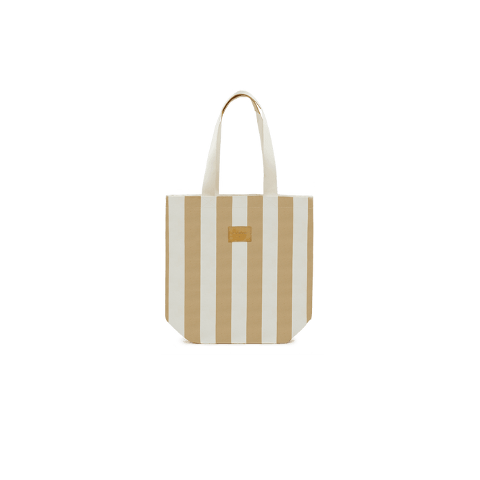 City Bag Stripe Beige