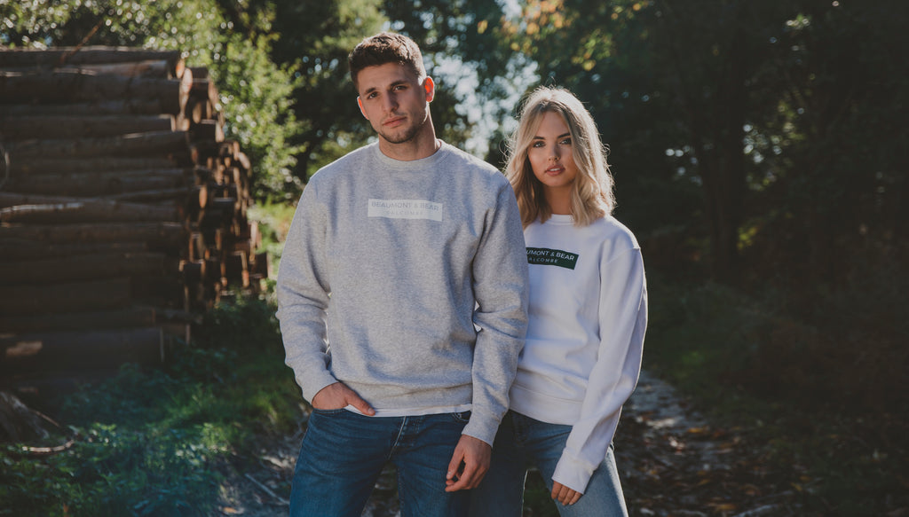 Bantham Sweatshirts in the woods