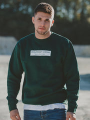 The Bantham Unisex Sweatshirt - Green - Beaumont & Bear