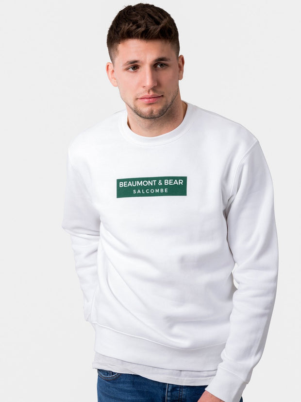 The Bantham Unisex Sweatshirt - White