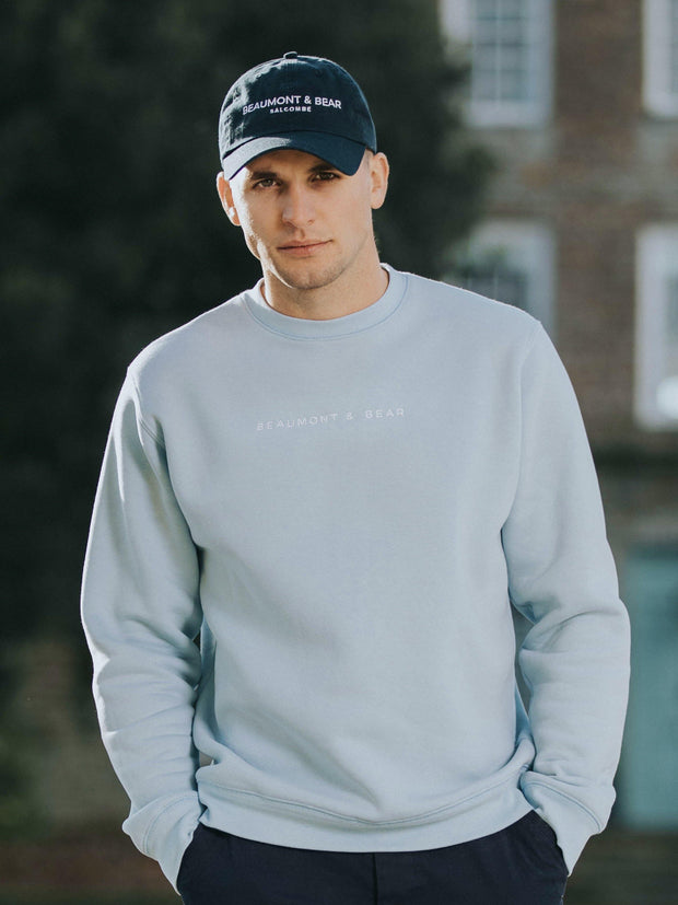 The Beesands Unisex Sweatshirt - Pastel Blue