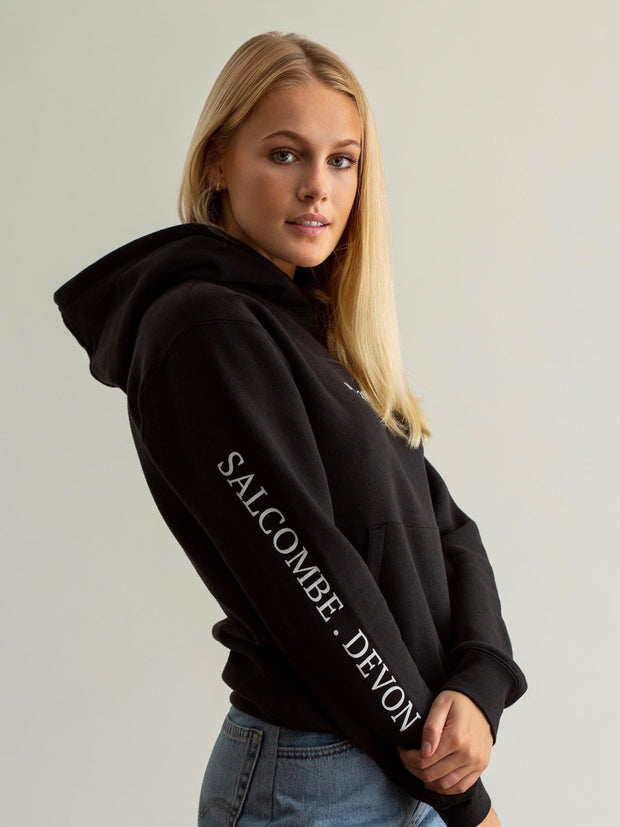 The Buckland Unisex Hoodie - Black - Beaumont & Bear
