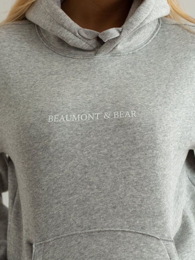 The Buckland Unisex Hoodie - Grey - Beaumont & Bear