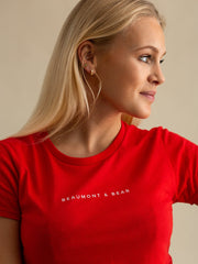 The Dartmouth Ladies T-Shirt - Red
