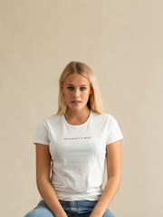 The Dartmouth Ladies T-Shirt - White/Navy