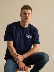 Hope Cove Mens T-Shirt - Navy