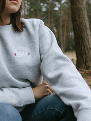 Sunny Cove Unisex Sweatshirt - Grey - Beaumont & Bear