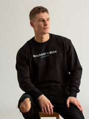 Island Street Unisex Sweatshirt - Black - Beaumont & Bear