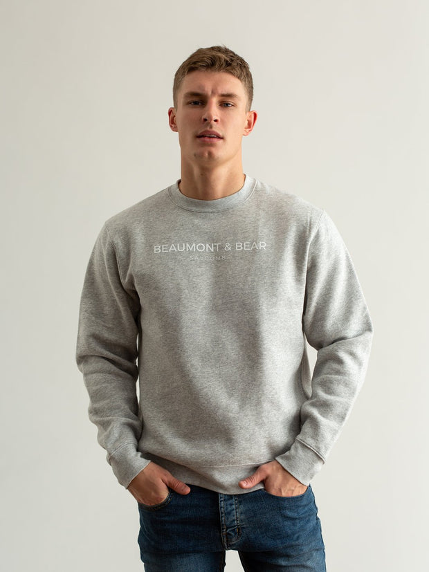 Island Street Unisex Sweatshirt - Grey - Beaumont & Bear