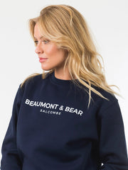 Island Street Unisex Sweatshirt - Navy - Beaumont & Bear