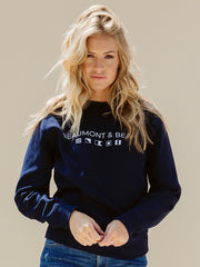 Mill Bay Unisex Sweatshirt - Navy