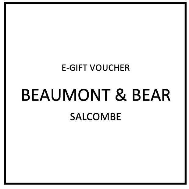 E-Gift Voucher - Beaumont & Bear