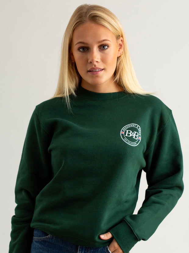 Sunny Cove Unisex Sweatshirt - Green - Beaumont & Bear