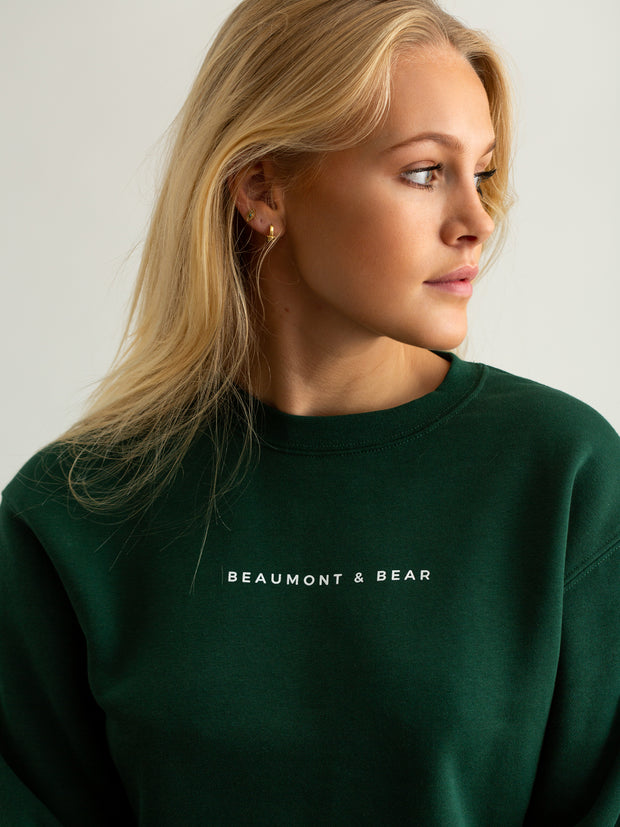Woodleigh Unisex Sweatshirt - Green - Beaumont & Bear