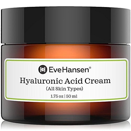 Hyaluronic Acid Cream - Hydrating, Moisturizing and Anti Aging Cream for ALL Skin Types.