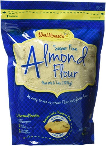 Wellbees Super Fine Blanched Almond Flour  284g