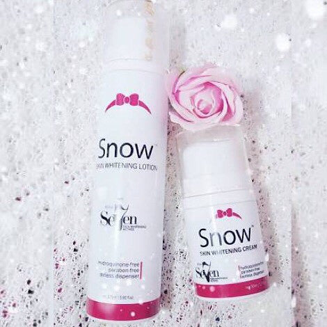Snow white whitening lotion