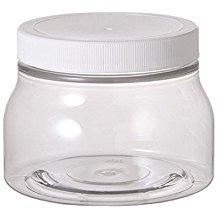 12pcs barbz plastic jars 70mm