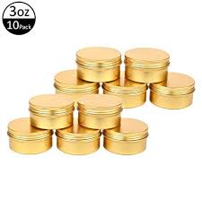 150g Gold tin container