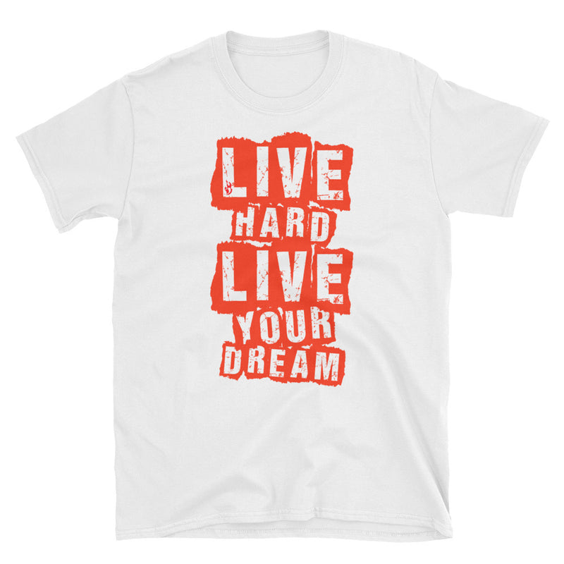 LIMITED Live Hard Live Your Dream Retro T-Shirt