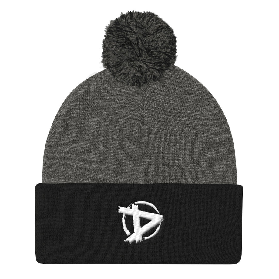 The Dudesons D logo Pom Pom Knit Cap
