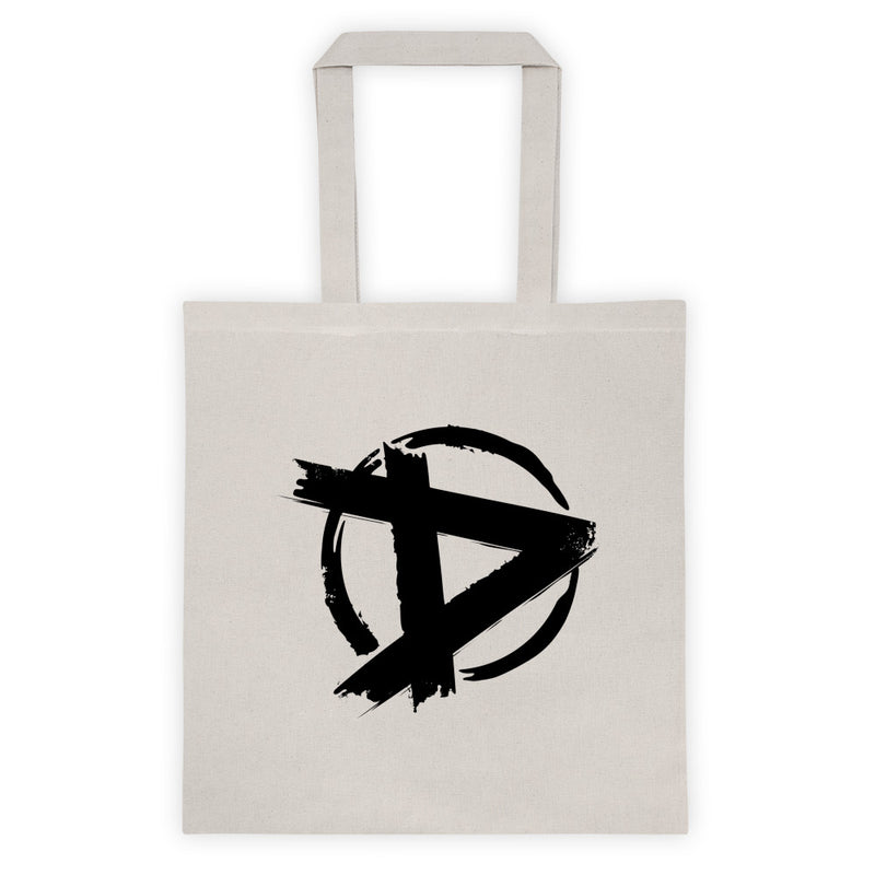 The Dudesons D Logo Tote bag Natural/Black