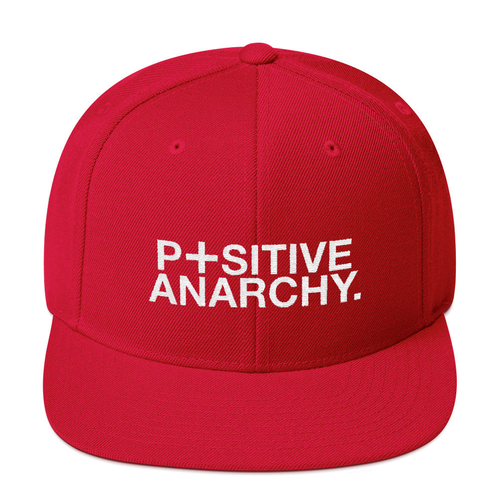 positive anarchy snapback hat the dudesons