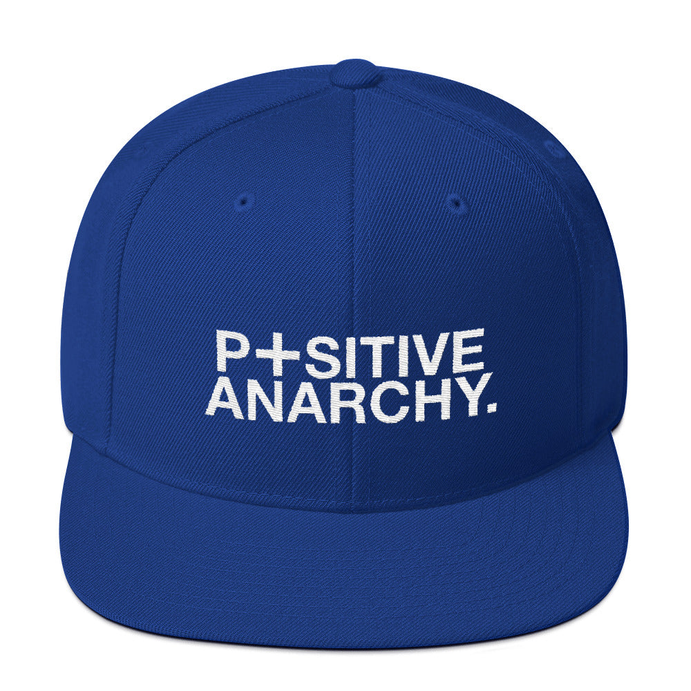 4517d78e560 Positive Anarchy Snapback Hat – The Dudesons