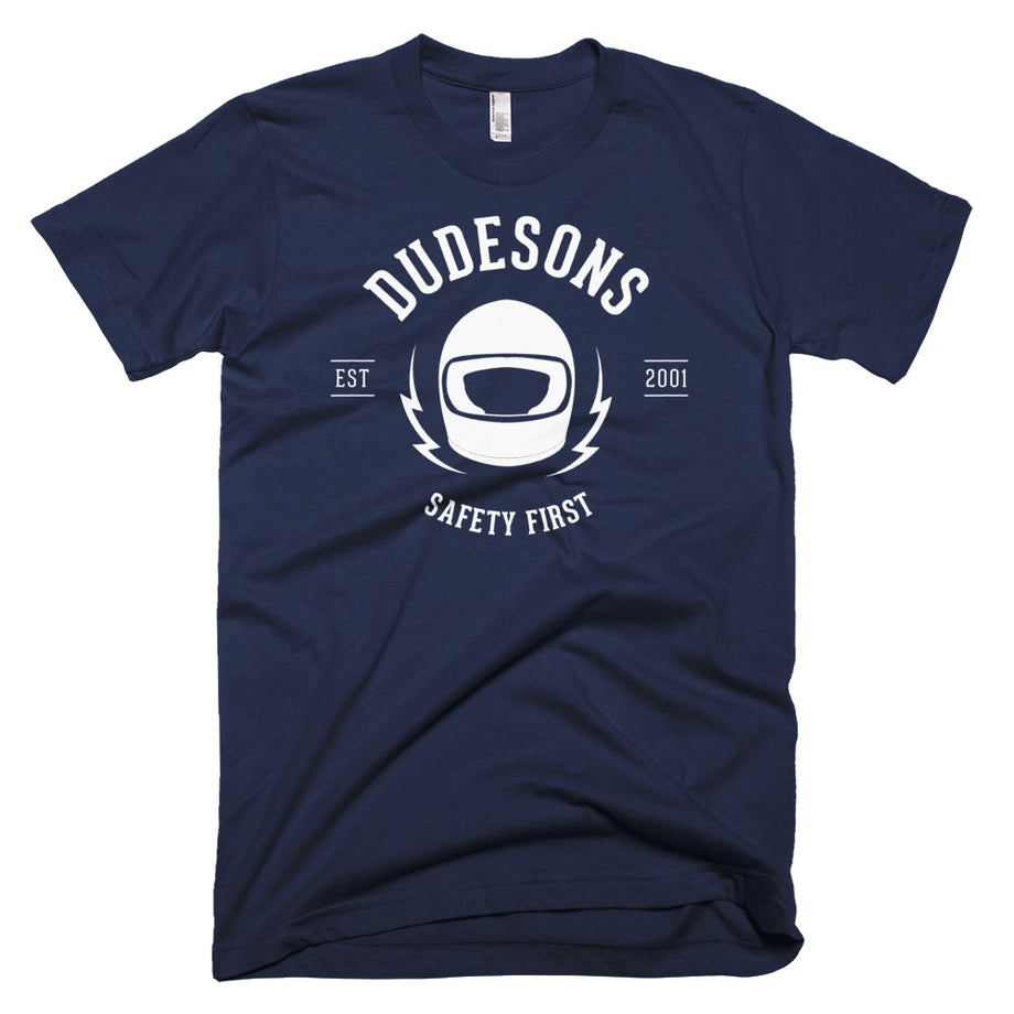 The Dudesons Safety First White T-shirt