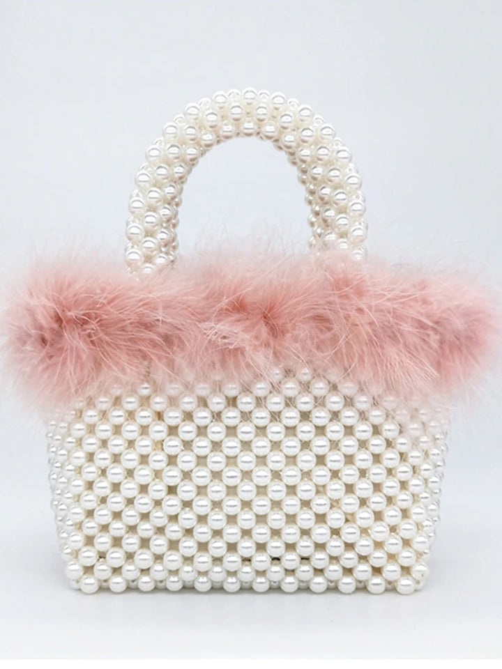 Pearls Hand Bag