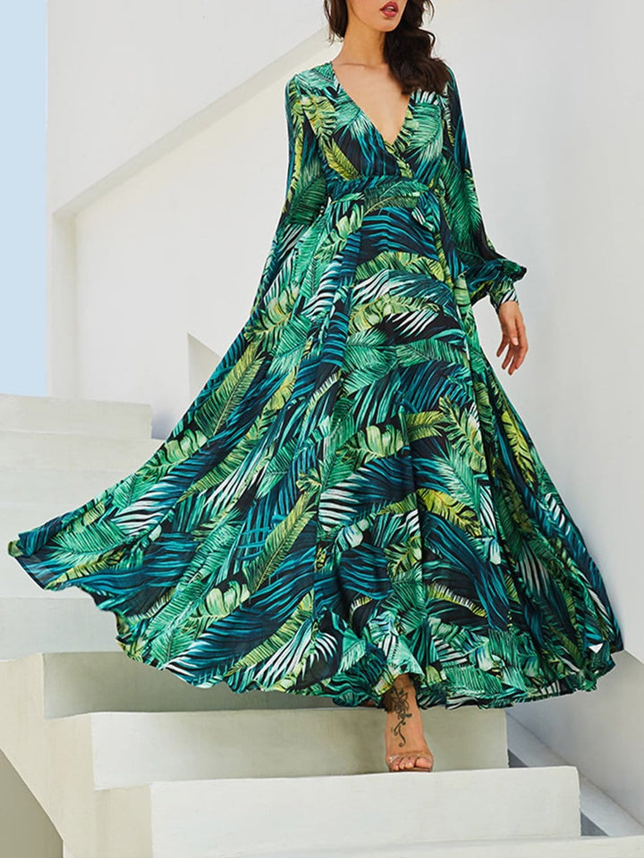 Damitra Floral Maxi Dress