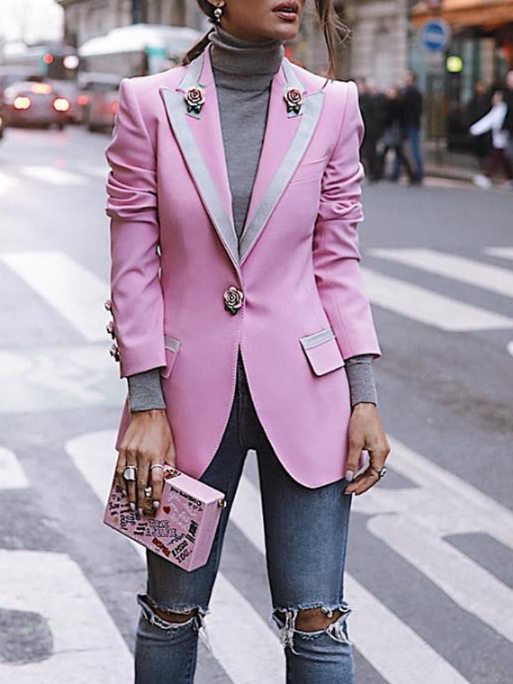 VALERY Blazer with Small Roses