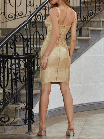 GOLDA Midi Bandage Dress