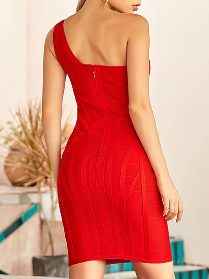 HANNE One Shoulder Dress