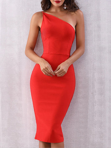 GAGA Bandage Midi Dress